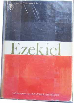 Image for Ezekiel: A commentary; (The Old Testament library).