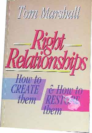 Image for Right Relationships  How to Create them & How to Restore them