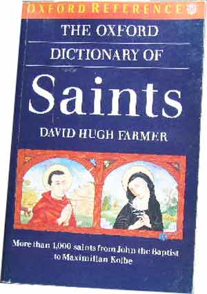 Image for The Oxford Dictionary of Saints  More than 1,000 saints...