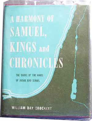 Image for A Harmony of the Books of Samuel, Kings and Chronicles.