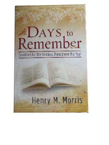 Image for Days to Remember  Devotions for the Holidays Throughout the Year