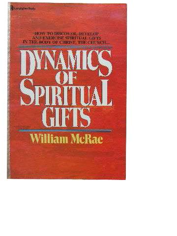 Image for Dynamics of Spiritual Gifts.