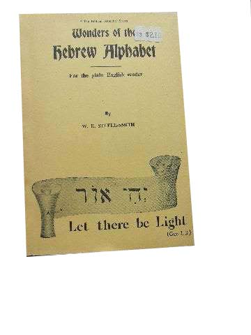 Image for Wonders of the Hebrew Alphabet  The Biblical Alphabet Series