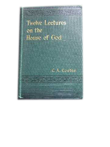 Image for Twelve Lectures on the House of God.