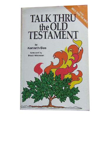 Image for Talk Thru the Old Testament.