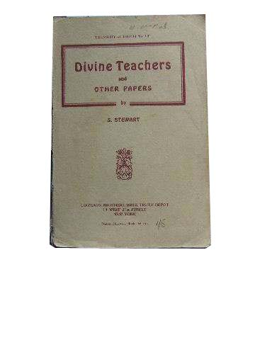 Image for Divine Teachers  And Other Papers