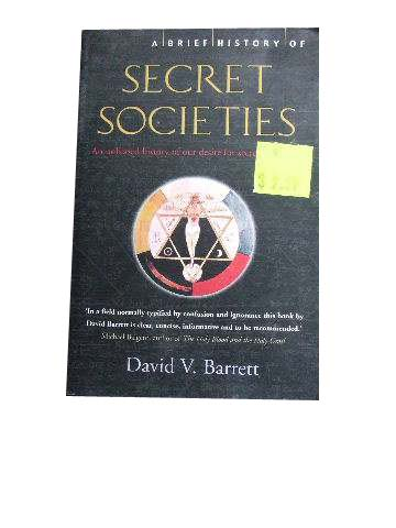Image for A Brief History of Secret Societies.