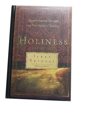 Image for Holiness Day by Day  Transformational Thoughts for your Spiritual Journey