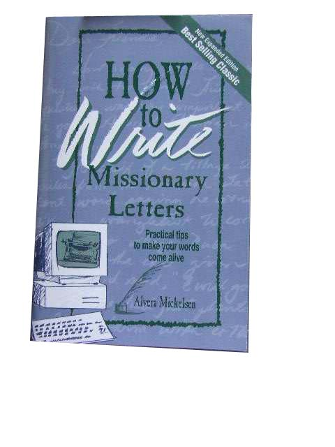 Image for How to Write Missionary Letters  Practical Tips to Make your Words Come Alive