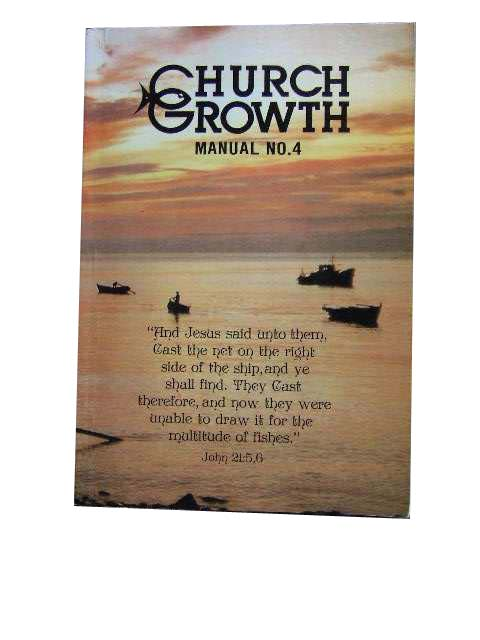 Image for Church Growth: Manual No  4.