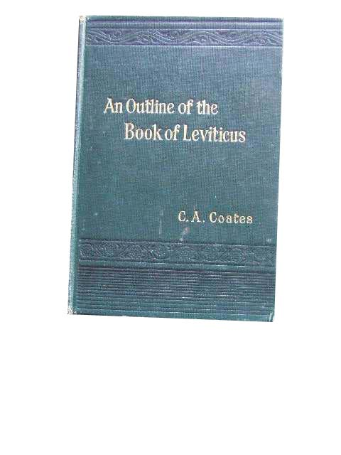Image for An Outline of the Book of Leviticus.