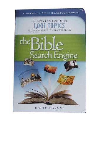 Image for The Bible Search Engine  Find Key References for 1,001 Topics Both Biblical and Contemporary