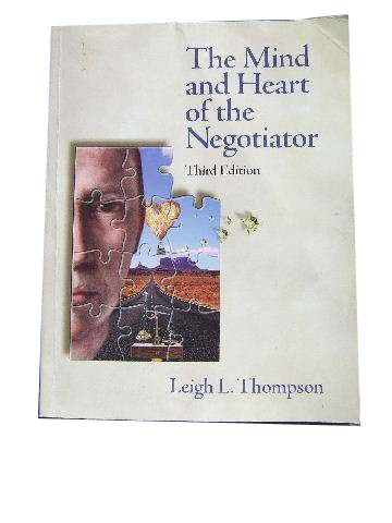 Image for The Mind and Heart of the Negotiator.