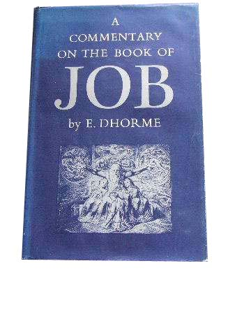 Image for A Commentary on the Book of Job.