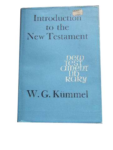 Image for Introduction to the New Testament  Translated from the 14th Revised Edition (1965) by A J Mattill in collaboration with the author