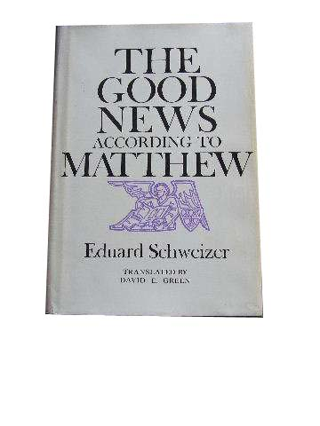 Image for The Good News according to Matthew.