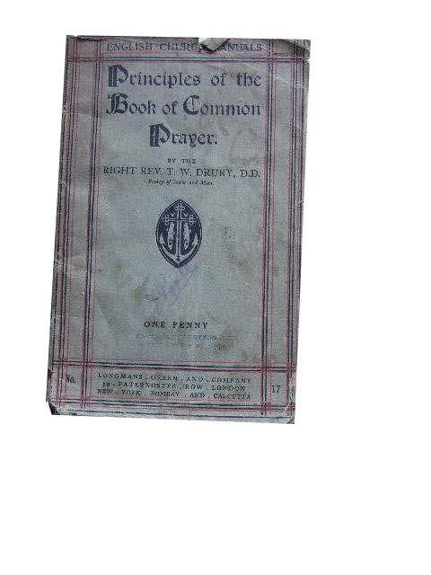 Image for Principles of the Book of Common Prayer.