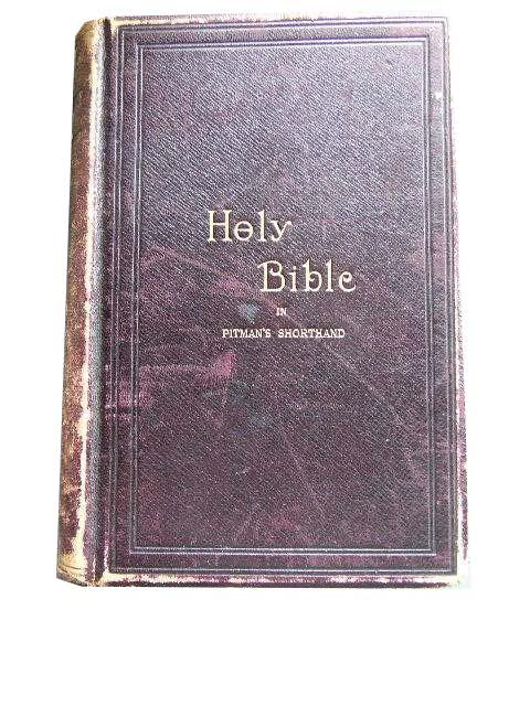 Image for The Holy Bible containing the Old and the New Testament.