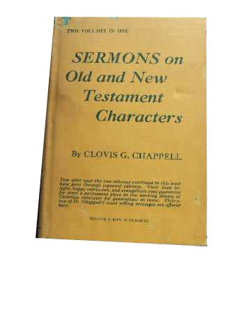 Image for Sermons on Old and New Testament Characters.