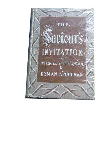 Image for The Saviour's Invitation  And Other Evangelistic Sermons
