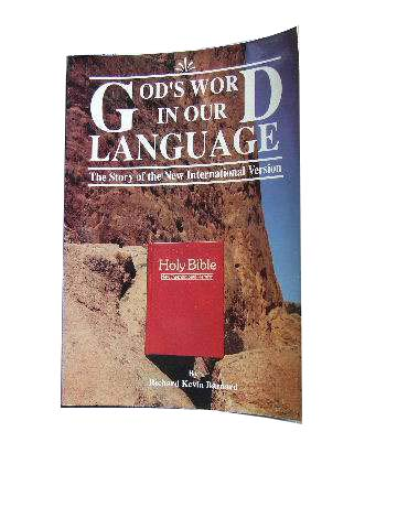 Image for God's Word in Our Language  The Story of the New International Version