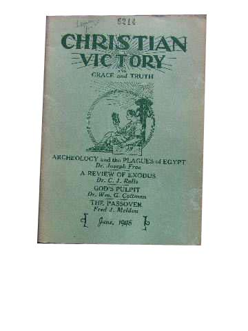 Image for Christian Victory and Grace and Truth June 1948 Vol 24 : No 236.