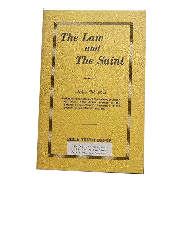 Image for The Law and the Saint.