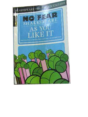 Image for No Fear Shakespeare  As you like it