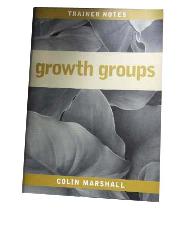 Image for Growth Groups  Trainer Notes