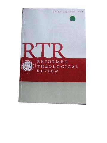 Image for Reformed Theological Review April 2009 Vol 68 No 1.
