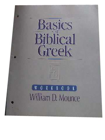 Image for Basics of Biblical Greek. Workbook.