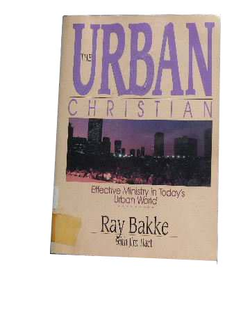 Image for The Urban Christian.