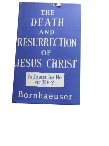 Image for The Death and Resurrection of Jesus Christ.