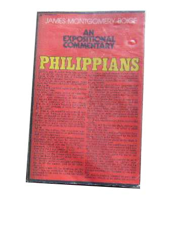 Image for Philippians  An Expositional Commentary
