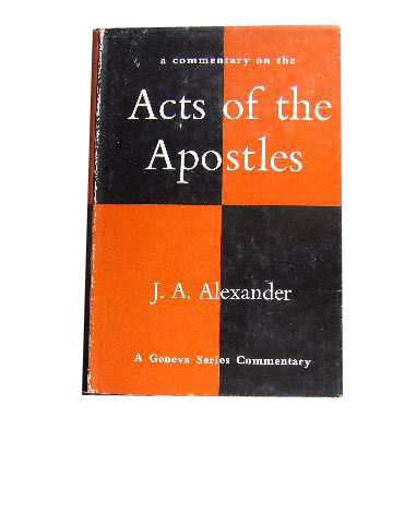 Image for A Commentary On The Acts Of The Apostles.