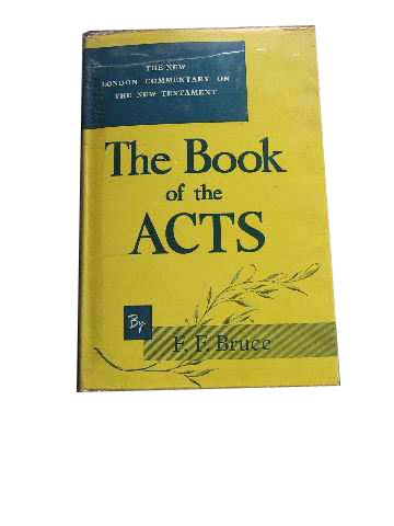 Image for Commentary on the Book of Acts  The English Text with Introduction, Exposition and Notes