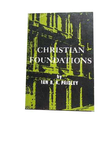 Image for Christian Foundations.