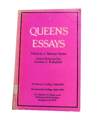 Image for Queen's Essays.