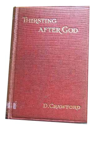Image for Thirsting After God and Other Bible Readings.