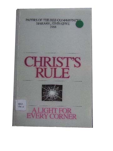 Image for Christ's Rule  A Light for Every Corner