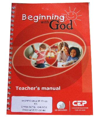 Image for Beginning with God  Teacher's manual