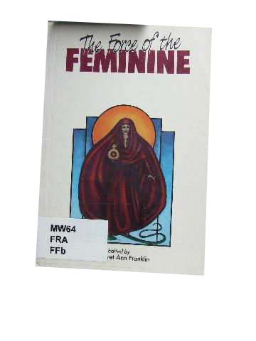 Image for The Force of the Feminine  Women, Men and the Church
