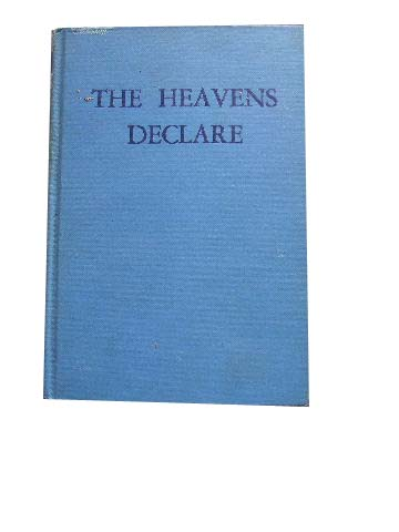Image for The Heaven's Declare.