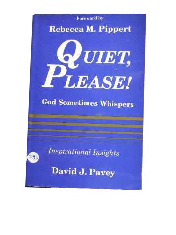 Image for Quiet, Please!  God Sometimes Whispers