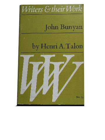 Image for John Bunyan  Writers & Their Work