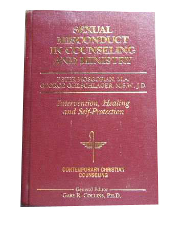 Image for Sexual Misconduct in Counseling and Ministry (Contemporary Christian Counseling).