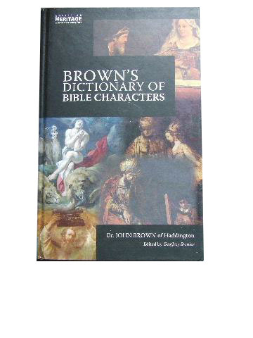 Image for Brown's Dictionary of Bible Characters.