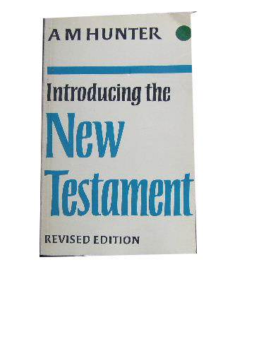 Image for Introducing the New Testament (Third Revised Edition).