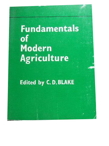 Image for Fundamentals of Modern Agriculture.
