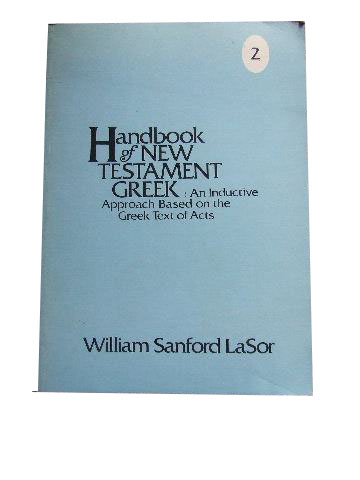 Image for Handbook of New Testament Greek (Volume 2 only)  An Inductive Approach based on the Greek Text of Acts